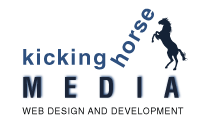 Kicking Horse Media Web Design & Development Inc. Logo